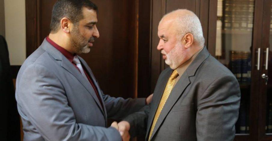 المستشار/ عابد يستقبل النائب العام