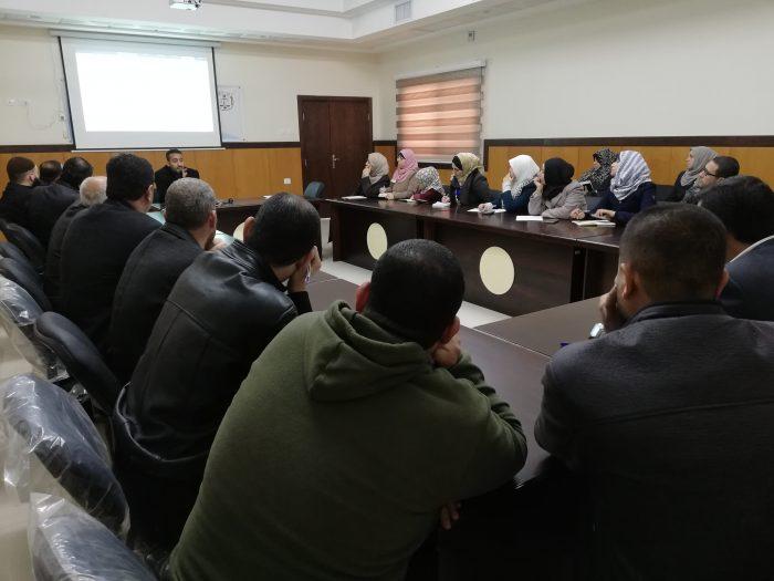 القضاء يعقد ورشة عمل حول برنامج المراسلات الإدارية لموظفيه