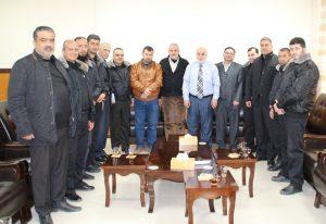 المستشار عابد يلتقي بوفد من مراكز الإصلاح والتأهيل
