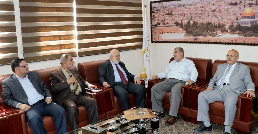 خلال لقاءه بمساعد مدير عام قوى الأمن الداخلي المستشار عابد