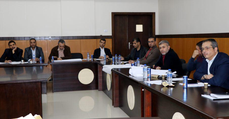 القضاء يعقد ورشة عمل لمناقشة دليل تطبيق معايير التميز الحكومية