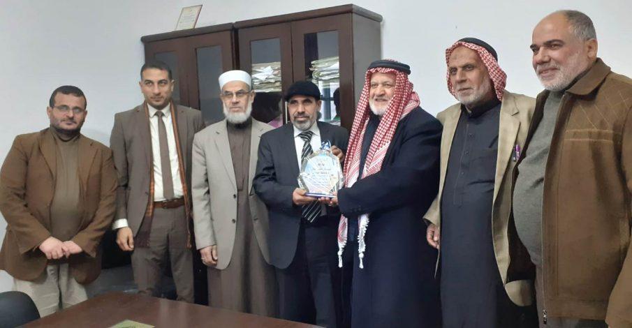 بداية وصلح دير البلح تجتمعان مع نواب المجلس التشريعي في المنطقة الوسطى