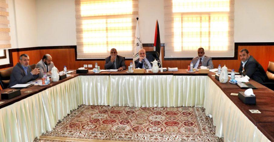 مجلس القضاء يعقد جلسته العادية رقم (١١/ 2019)