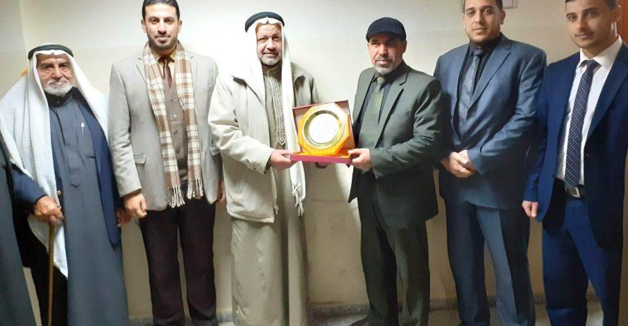 محكمة بداية دير البلح تستقبل لجنة إصلاح المنطقة الوسطى