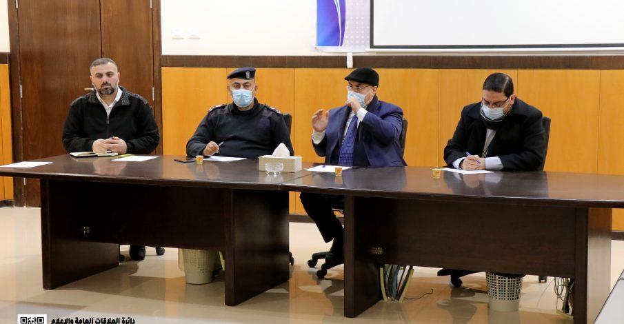 بخصوص أوامر الحبس  المكتب الفني والإدارة العامة تعقدان لقاء مع الشرطة القضائية