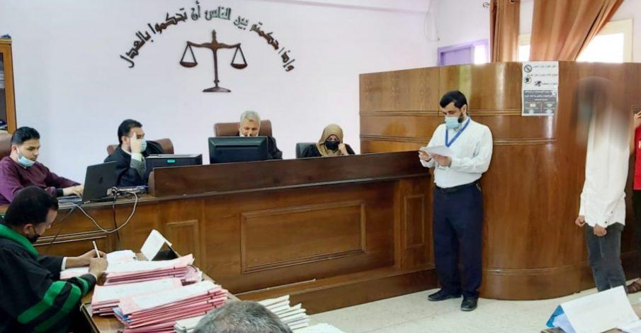 بداية غزة، تعقد جلسة لنظر جنايات الأحداث